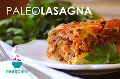 This AIP compliant paleo lasagna takes our faux-mato sauce and pairs it with plenty of protein and rich zucchini noodles.