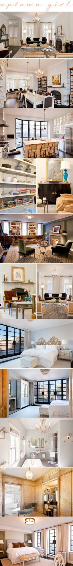 Cookbook author, Katie Lee, sold these Manhattan digs last year (whhhyyyy??) after having it redesigned by guru of understated elegance, Nate Berkus.~ Whatyoufancy.com