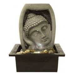 Create a stunning spectacle in any room in your home with the Parma Indoor Table-Top Water Feature by Aqua Creations.