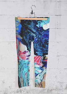 Seaworld - Yoga Capri Pants by Johanna Leipold + art for everyday life Shops, Designer, Pajama Pants, Pajamas, Art, Fashion, Life, Artworks, Painting Art