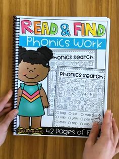Phonics Read and Find I Spy Worksheets