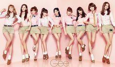 SNSD 少女時代 全員 소녀시대  Gee 壁紙 WallPaper