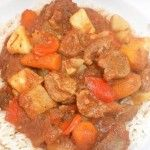 Slow-Cooker Lamb and Root Vegetable Stew