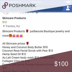 Skincare products for sale 🛍 All Skincare products for sale 🛍🛍📦🎄🎁 Accessories