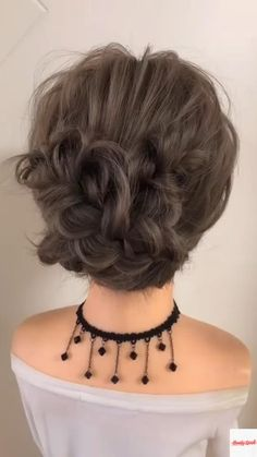 Easy Hairstyles For Long Hair, Up Hairstyles, Hairdos, Updos, Hair Up Styles, Medium Hair Styles, Bridesmaid Hair, Hair Videos, Hair Looks