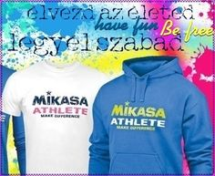 Szabadidőben is minőségben: Mikasa ruházat hölgyeknek & uraknak Mikasa, Athlete, Graphic Sweatshirt, Sport, Sweatshirts, How To Make, Fun, Google, Fashion