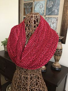 This scarf pattern will make any specialty yarn look great. Some times these yarns require that you keep your pattern simple. So here it is, one of the simplest patterns you will find.