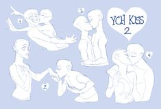 New ideas drawing couple poses ych Drawing Couple Poses, Couple Poses Reference, Drawing Body Poses, Drawing Reference Poses, Kissing Reference, Couple Drawings, Ship Drawing, Drawing Base, Figure Drawing