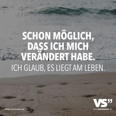 Veränderungen: shared by Gabis Welt :) on We Heart It Instagram Captions For Friends, Quotes That Describe Me, German Quotes, Truth Of Life, Encouragement Quotes, True Words, Beautiful Words, Beautiful Pictures, True Stories