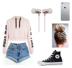 """""""Camping look"""" by cierra-watkins12 on Polyvore featuring Converse and Cynthia Rowley"""