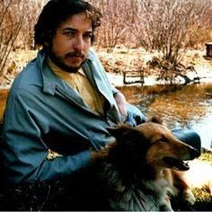 3- - Dylan and his collie, 1970