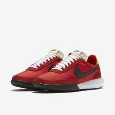 Nike Roshe Waffle Racer NM Mens Shoes 9 University Red Black White 845089 600 #Nike #RunningCrossTraining