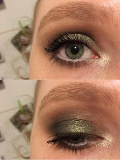 First time using green eyeshadow! CCW :)