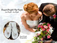 Beach Bright Flip Flops - Bridal White