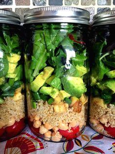Quinoa Salad In A Jar