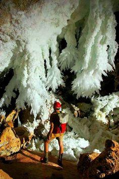 Lechuguilla Cave, Carlsbad Caverns, New Mexico