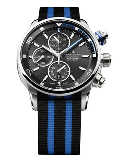 Maurice Lacroix Pontos S Diving Chronograph #MauriceLacroix Swiss Watchmakers  #horlogerie @calibrelondon