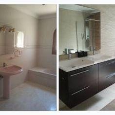 Banheiros modernos por torradoarquitectura