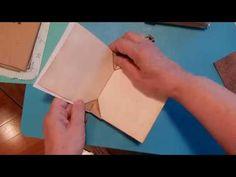 Blizzard Book TUTORIAL - YouTube Accordion Book, Small Study, Mini Album Tutorial, Mini Books, Book Crafts, Paper Crafts, Origami, Handmade Books, Book Binding