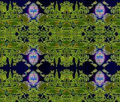 springtime_in_blackwood fabric by cherb on Spoonflower - custom fabric