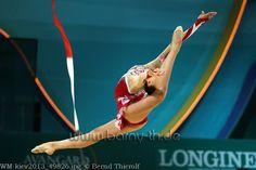 Alessia Russo, Italy; World Championship, Kiev 2013 #rhythmic_gymnastics