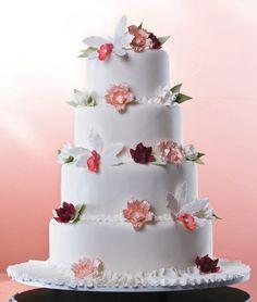MODELOS DE BOLOS DE CASAMENTO - WEDDING CAKES