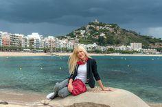 #Blanes #Spain #preppy #travel #travelblogger #fashion #fashionblogger #styleblogger #ootd