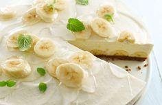 Philadelphia Torte Banane