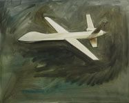 Drone, 2011  Oil on canvas, 65 x 81 cm