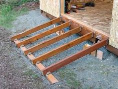 DIY Shed Ramps I have always found it a effort for lifting the mower or moving garden furniture in and…