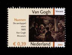 Afbeeldingsresultaat voor postzegels vincent van gogh