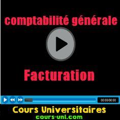 Facturation-comptabilité générale | Cours Universitaires