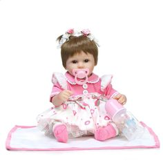 Cheap brinquedos bonecas, Buy Quality reborn baby alive directly from China dolls reborn babies Suppliers: NPKCOLLECTION reborn doll with soft real gentle touch alive Adorable bonecas princess bebe Realistic brinquedos bonecas Reborn Baby Girl, Baby Girl Dolls, Baby Girl Princess, Reborn Baby Dolls, Baby Girl Newborn, Pink Princess, Child Doll, Baby Girls, Handgemachtes Baby