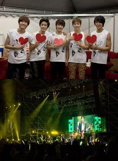 FTISLAND in Taiwan for their concert 'Play! FTISLAND'