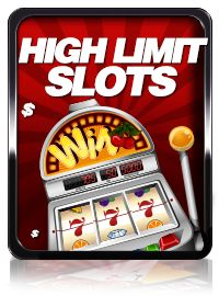 A high limit online slot player will always look to get the most bang for their buck when it comes to finding a real money video or classic slot machine to play for real money. Most people that play high limit online slots search for games that have progressive jackpots because they have the chance of getting the biggest return on their risk.