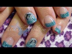 ☆★ Gel nail tutorial - Dolphin nail art ★☆