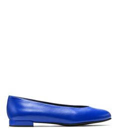 The CHICFLAT in Ultramar Blue Nappa Leather