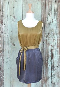 Throwback Two Toned Dress - Choix Boutique - Boho Clothing, Vintage Style Clothing & Artisan Jewelry