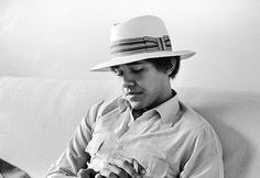 Obama as a college freshman, posing for an art student friend at Occidental, circa 1980