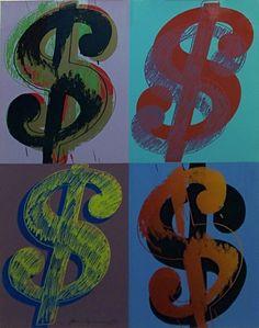 Andy Warhol, $ (Quadrant) FS II.283 available at #gallartcom