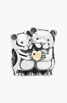 PANDORA 'Bear Hug' Bead Charm available at #Nordstrom