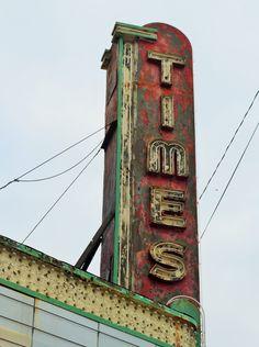 Times Cinema ~ Rochester, Indiana © Brandace Myers 2015