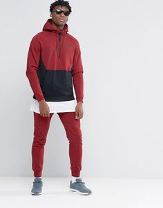 Nike+Tracksuit+Set+In+Red+805042-677