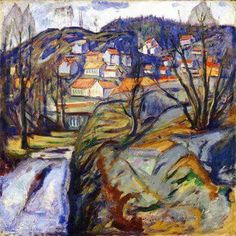 Edvard Munch - Kergo in spring 1912