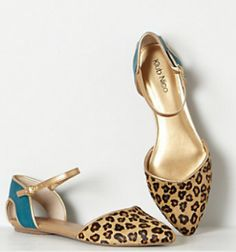 #anthropologie rosine d'orsay flats #lookforless #frugalfashion