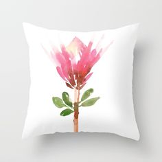 Buy King Protea Throw Pillow by susanbrand. Worldwide shipping available at Society6.com. Just one of millions of high quality products available.