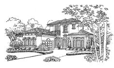 Italianate House Plan with 3192 Square Feet and 4 Bedrooms from Dream Home Source   House Plan Code DHSW43406