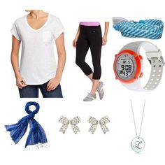"""Running Around all Day"" by cara-weidinger on Polyvore"