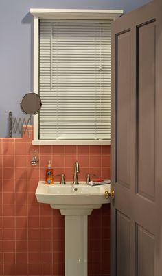 That Pink Bathroom Seinfeld, 90s Things, Hgtv, Bathroom Lighting, Sink, Vessel Sink, Sink Tops