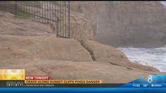 Crack along Sunset Cliffs poses danger